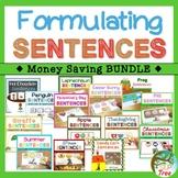 Formulating Sentences Bundle