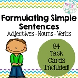 Formulating Simple Sentences