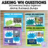 Formulating WH Questions: Animal Research Bundle