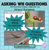 Formulating WH Questions With Insects: Speech Language Therapy