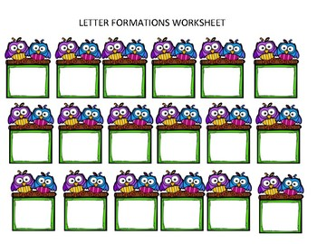 Formulations of Letters