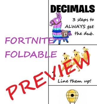 Fornite Decimals