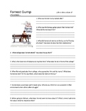Forrest Gump Movie Guide and Short Answer Questions