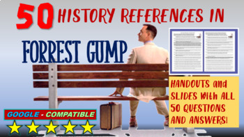 Forrest Gump Video Guide: Analyzing 50 historical subjects (WITH ANSWERS)
