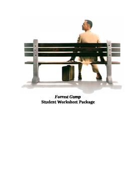 Forrest Gump Movie/Video Analysis Worksheet Package