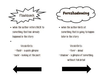 Forshadowing & Flashback Booklet