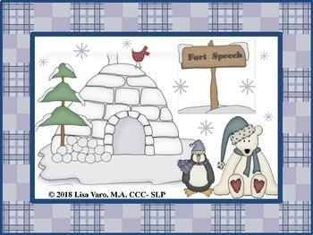 Fort Speech Winter Language Activities