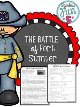 Fort Sumter: Nonfiction Passage and Foldable