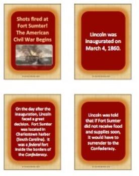Fort Sumter:  The American Civil War begins!