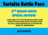 Fortnite Battle Pass: 6th Grade Spiral Review