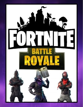 Fortnite Battle Royale Review - Math, Reading & Writing