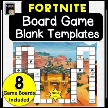 Fortnite Game Board Templates