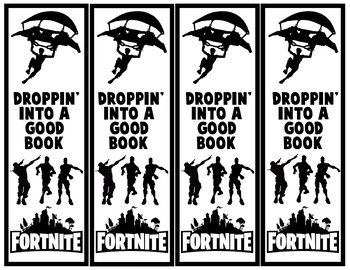 Fortnite Bookmarks by Quirky Librarian Teachers Pay Teachers