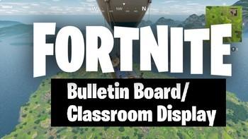 Fortnite Bulletin Board Bundle (Set of 2)