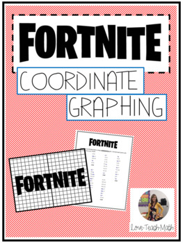 Fortnite Coordinate Graphing Mystery Picture