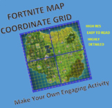 Fortnite - Coordinate Grid Map
