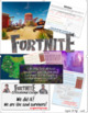 Fortnite Fun, Reading Comprehension, Escape Room, Article