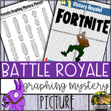Fortnite Graphing Mystery Picture (Coordinate Grid & Ordered Pairs)