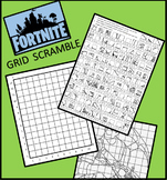 Fortnite Image Scramble 1 - Busy / Sub Work