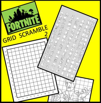 Fortnite Image Scramble 2 - Busy / Sub Work