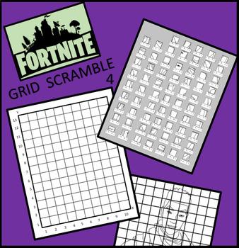 Fortnite Image Scramble 4 - Busy / Sub Work