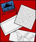 Fortnite Image Scramble 5 - Busy / Sub Work