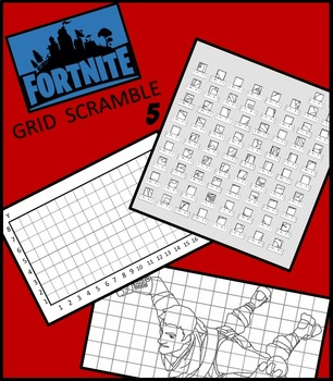 Fortnite Image Scramble 5 - Busy / Sub Work