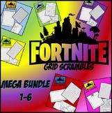 Fortnite Image Scramble #s 1-6 Mega Bundle - Busy / Sub Work