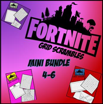 Fortnite Image Scramble #s 4-6 Mini Bundle - Busy / Sub Work