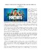 Fortnite Informational Mega Pack for Grades 7-9