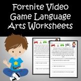 Fortnite Reading Comprehension and Questions Distance Lear