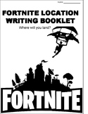 Fortnite Location Writing Booklet