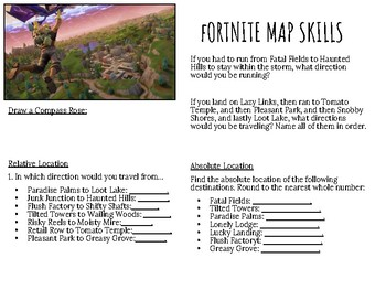 Fortnite Map Skills