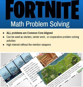 Fortnite Math Problem Solving