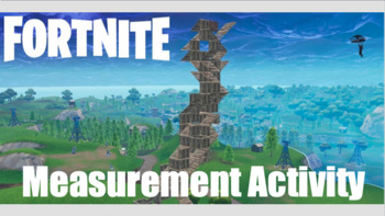 Fortnite Themed Measurement Activity