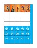 Fortnite Multiplication Game Answer Key/Score Card