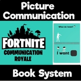 Fortnite Picture Communication Book- PECS, Communication B