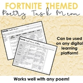 Fortnite Poetry Tasks