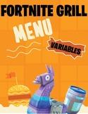 Fortnite Restaurant Themed Variable Activity