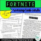 Fortnite Revising Task Cards: Inserting Sentences