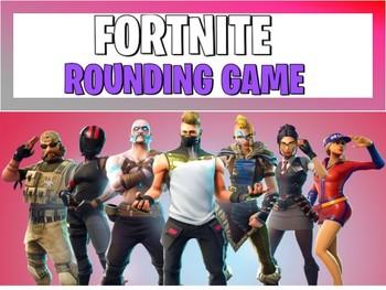 Fortnite Rounding Game