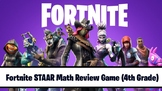 Fortnite Fourth Grade STAAR Math Interactive Review Game