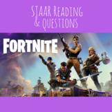 Fortnite STAAR Reading