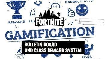 Fortnite Super Bundle Bulletin Boards, POSTERS, Icebreaker, Name Tags