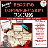 Fortnite, Task Cards, Reading Comprehension, Test Prep