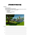 Fortnite: Writing Activity