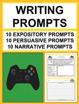 Video Game Writing Prompts