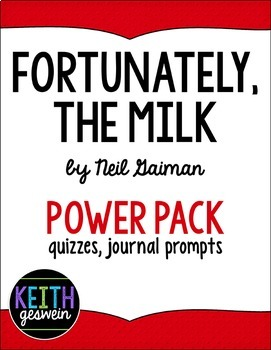 Fortunately, The Milk Power Pack: 11 Journal Prompts and 6 Quizzes