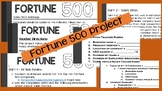 Banking and Finance/Accounting—Fortune 500 Research Projec