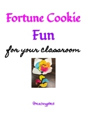 Fortune Cookie Fun for Your Classroom